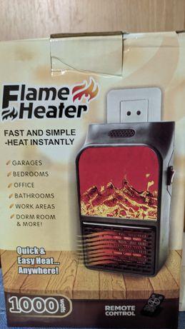 Продам электрический обогреватель, тепловентилятор с пультом.