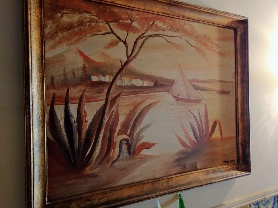 Pinturas sobre tela do pintor Tony Dan Carnaxide E Queijas - imagem 1