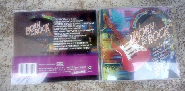 "Cd ""Born To Be Rock"", Vários Artistas"