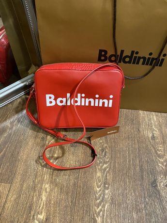 Кожаная сумка Baldinini coack kors cromia armani coccinelle