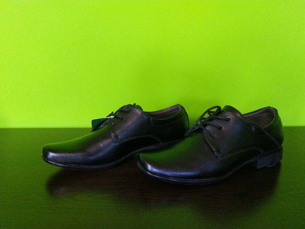 Buty eleganckie NOWE Komunia chłopięce rozmiar 37 pantofle