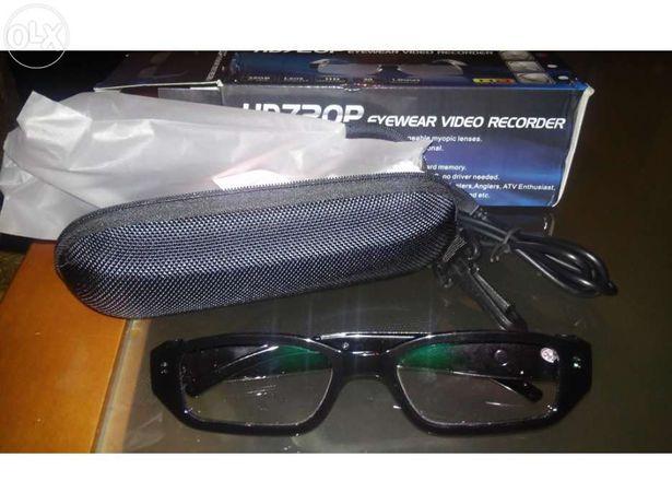 Oculos de ver com camara espião