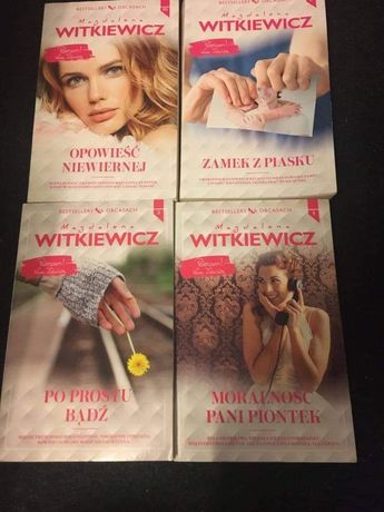 Magdalena Witkiewicz - Bestsellery na obcasach