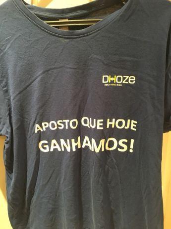 Vendo tshirt da casa de apostas Dhoze