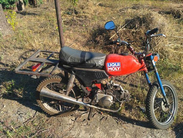Мопед Карпаты с двигателем Альфа 110 куб