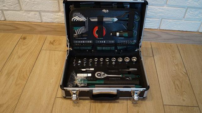 Zestaw narzędzi Mannesmann 90 klucze komplet walizka narzędziowy
