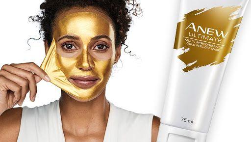 "Avon Anew Ultimate maska ""peel off"" ze złotem 75 ml"