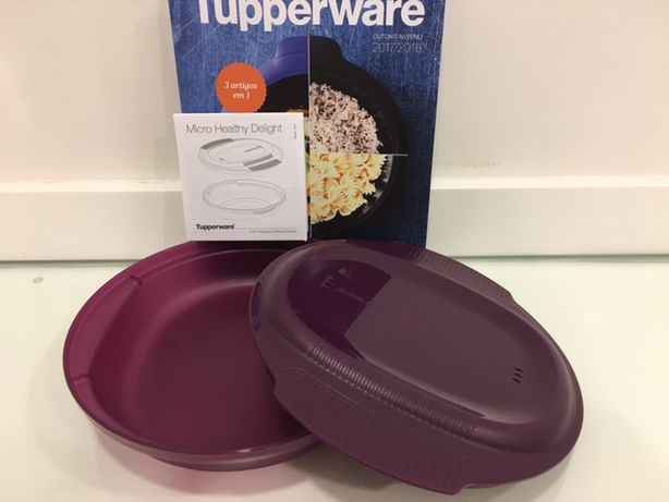 Micro-Delícia Redonda Tupperware