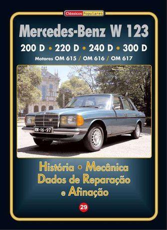 Mercedes-Benz W 123 -200D a 300 D - Manual Técnico