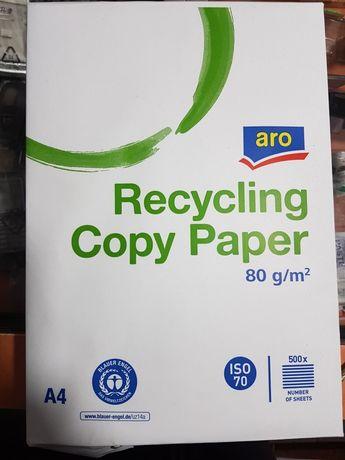 Офисная бумага белая и серая