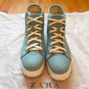 Кеды кроссовки ботинки Zara 40р на платформе