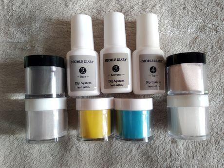 Nowy zestaw do manicure tytanowego manicure tytanowy dip system
