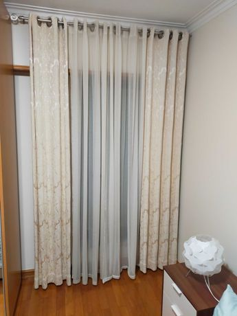 Cortinados do Gato Preto para Quarto ou Sala 35€