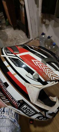 Capacete AGV enduro motocross