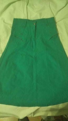 Новая юбка XL катон