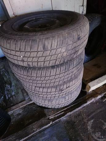 Колеса ВАЗ в сборе-Резина летняя+диски r13 4:98 ТОРГ
