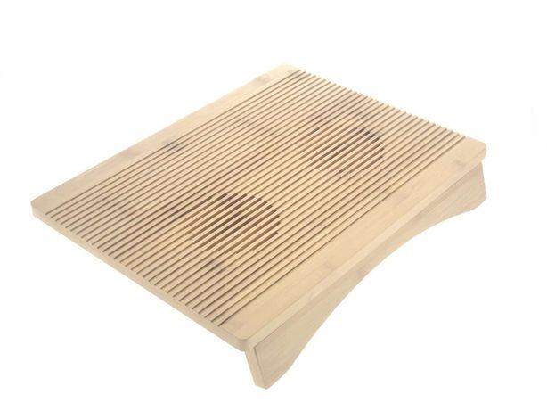 Бамбуковая подставка для ноутбука