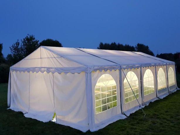 WYNAJEM namiotów imprezowych z wyposażeniem: komunie, wesela, chrzciny
