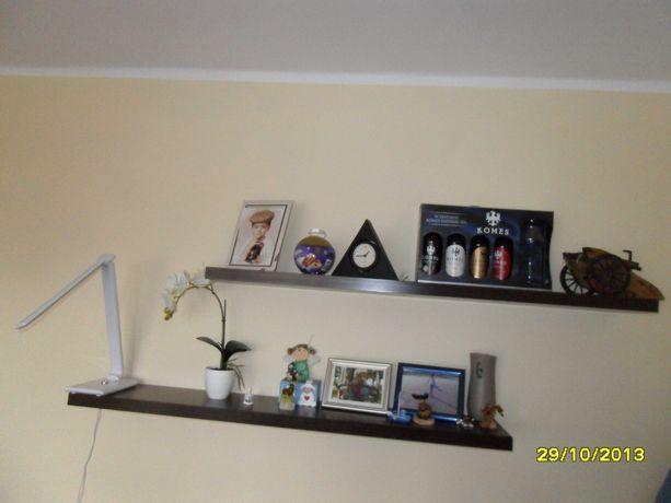 półka wisząca deska gruba