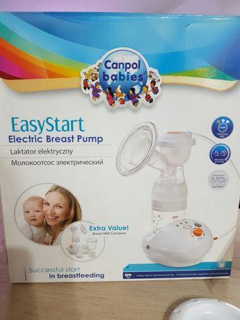 Laktator elektryczny EasyStart firmy Canpol Babies JAK NOWY!!!