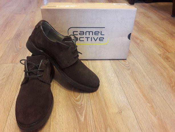 Мужские туфли. Туфли Сamel active. Замшевые туфли. Германия.