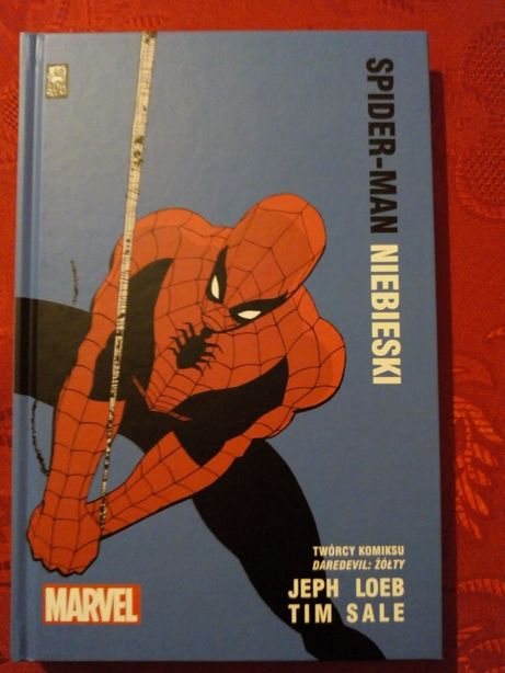 Spider-Man Niebieski MARVEL