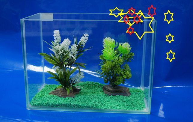 mini akwarium bezbarwny silikon 12,6 L