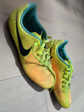 Korki Nike limonkowe