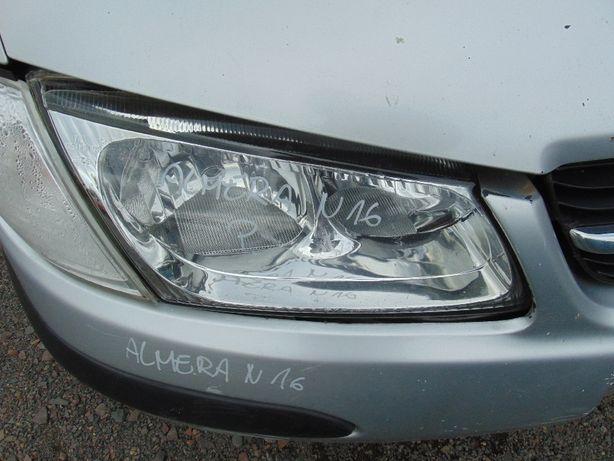 Lip>Nissan Almera N16 lampa przednia prawa