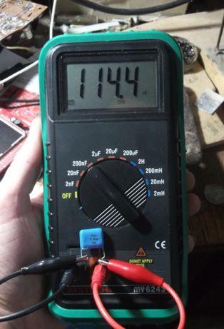 Тестер ,LC метр-измеритель емкости и индуктивности