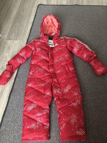 Детский зимовий зимний комбинезон Пух Пуховый  Adidas I SMU DOWN SUIT