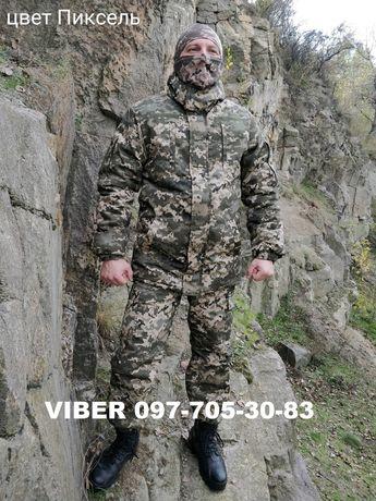 Военная одежда костюм зимний тактический Горка камуфляж форма теплая