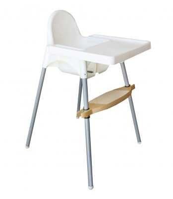 Apoio de pés - cadeira Antilop (Ikea) e Happy Bear (Continente)