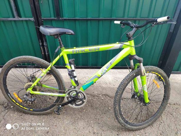 велосипед recer с алюминиевой рамой цена 12000рублей