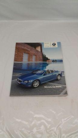 Catálogo de miniaturas oficial BMW colecção 2004/2005