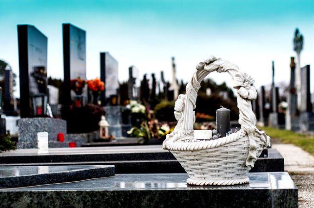 SPRZĄTANIE GROBÓW dekoracja Orzesze Żory Mikołów Łaziska Wyry i okolic