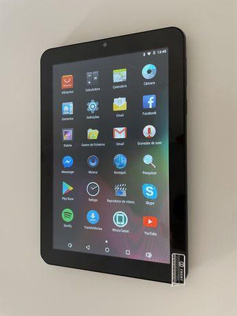 Tablet Android com 2 Gb de armazenamento