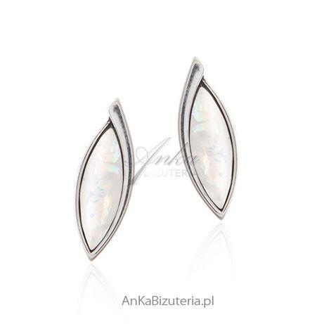 ankabizuteria.pl ogromny pierścień srebrny Kolczyki srebrne z imitacją