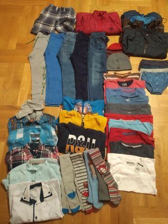 Ubrania dla chłopca rozm.116