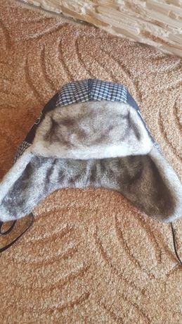 Очень теплая зимняя шапочка