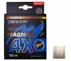 Plecionka Dragon Magnum 4X Jasnoszara 150m 0.20mm