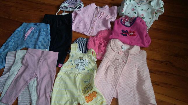 Ubranka dla dziecka rozmiar 80-90.