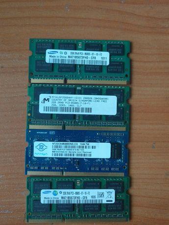 Pamięć RAM DDR3 PC3 1.5v 2/4 GB do laptopa