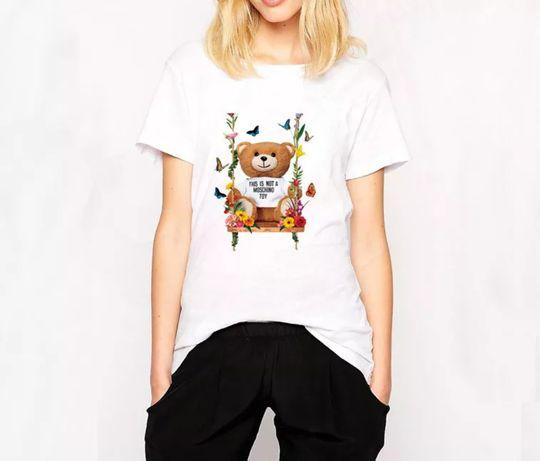 Koszulka bluzka t-shirt Beat not moschino toy miś S-XXL