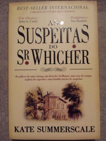 Livro: As Suspeitas do SR. Whicher - Kate Summerscale