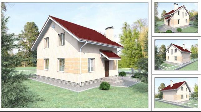 Рабочий проект частного дома 109,5м2
