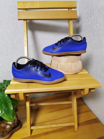 Залки футзалки Nike Bravatax II 38 размер 24см ОРИГИНАЛ