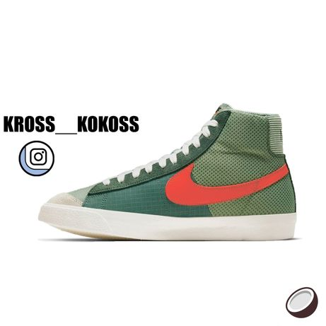 Кроссовки Nike Blazer mid 77 Patch Оригинал   Кросівки Найк Блейзер