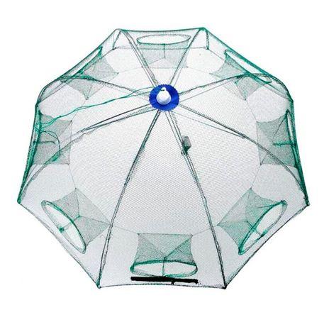 Раколовка зонт 6, 8 ходов 10,12,16,20 книжка гармошка