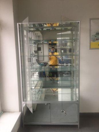 Торговий скляний шкаф